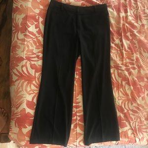 Black Bootcut Alfani Trousers